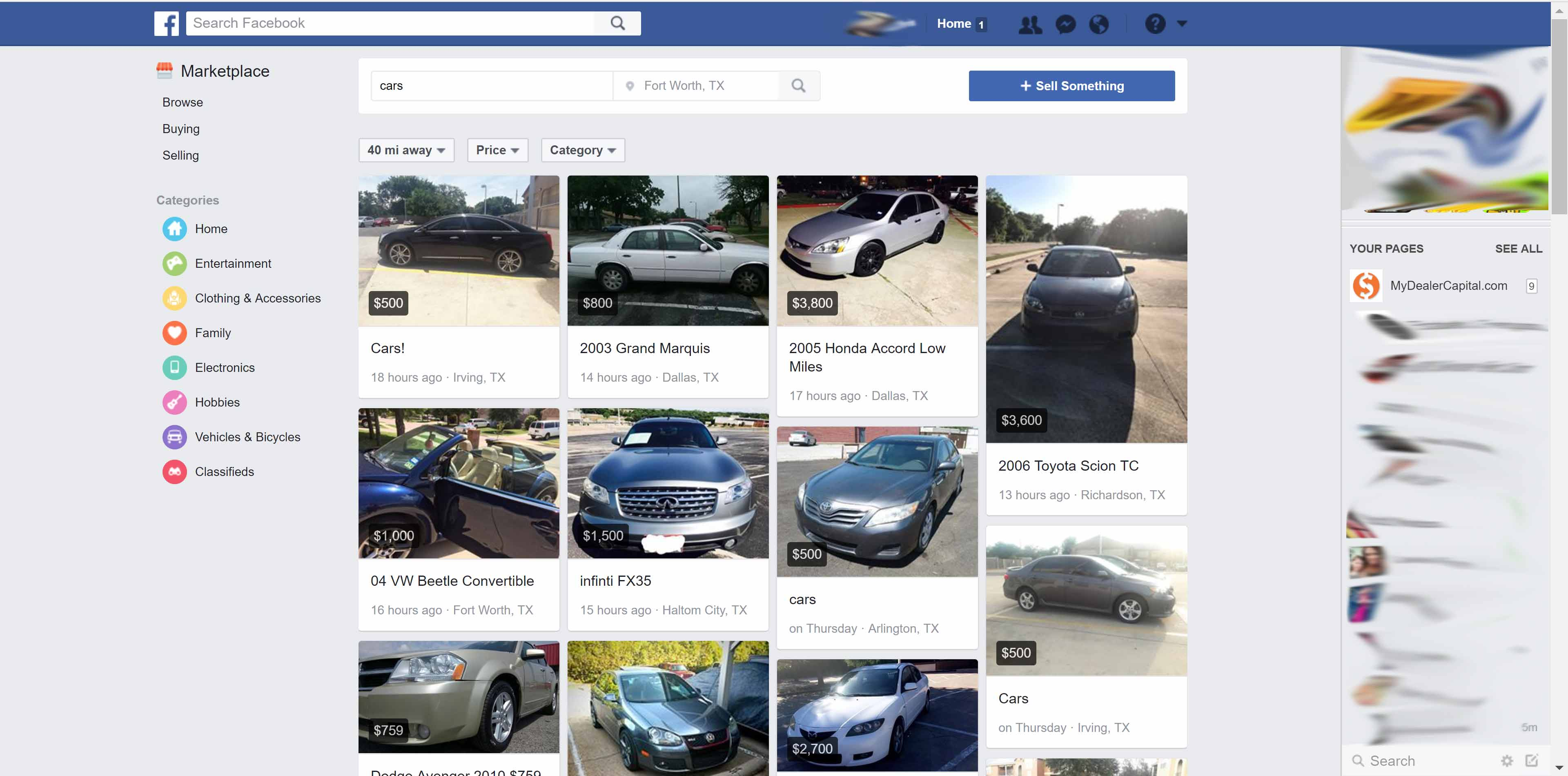 Will Facebook Be The Next Big Thing In Used Car Ads Mydealercapital Com